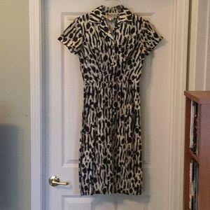 Dresses & Skirts - Vintage Black and White Dress
